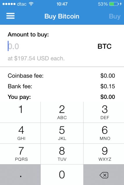 Coinbase për iOS, menaxhon rezervat e monedhës virtuale BitCoin nga iPhone
