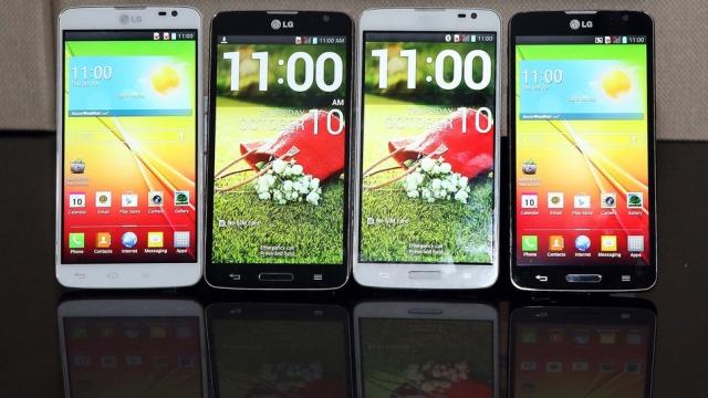 LG lançon smartfonin LG G Pro Lite