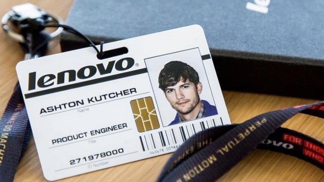 Lenovo i uron mirëseradhjen punonjësit më të ri, aktorit Ashton Kutcher
