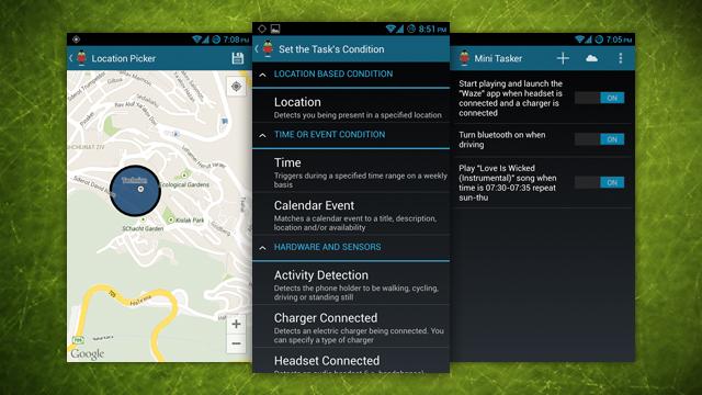 Mini Tasker, mjet i fuqishëm për automatizim në Android