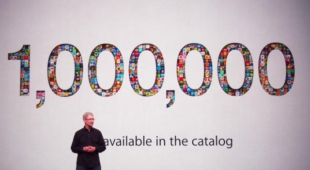 Tim Cook: App Store arrin në 1 milion aplikacione, iOS 7 për 5 ditë 200 milion shkarkime