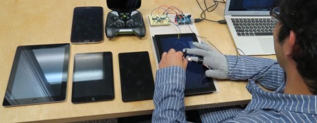 Testi i ekranit me prekje rendit iPad, SHIELD dhe Suface si tabletët me reagim më të shpejtë