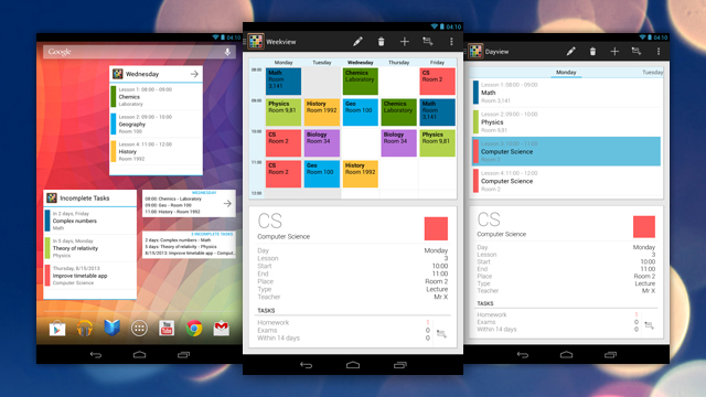 Timetable, aplikacion për të ndihmuar studentët për organizime