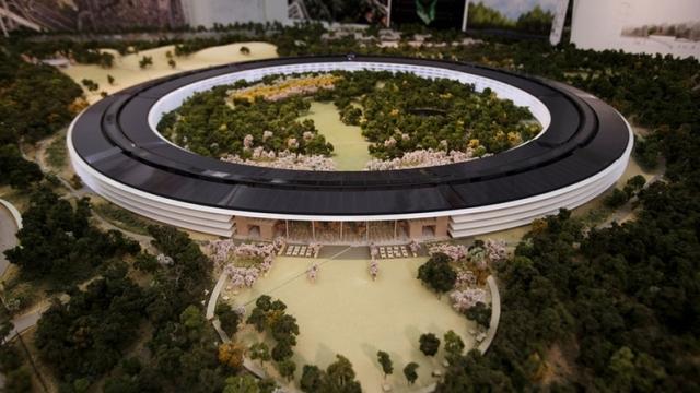 Shikoni modelin e kampusit të ri të Apple