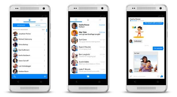 Fcebook po teston një version të ri të aplikacionit Messenger për Android