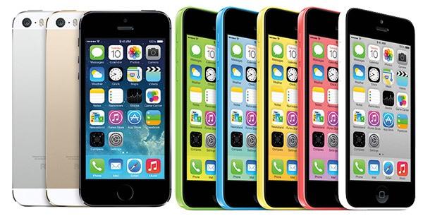 IPhone 5S dhe 5C përbëjnë 5.5% të numrit total të iPhone-ëve të aktivizuar