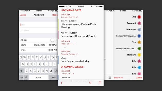 Aplikacioni Logacal kthen kalendarin tuaj në axhendë