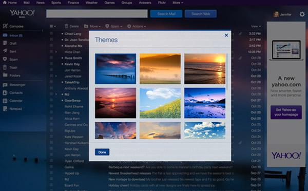 Përdoruesit e Yahoo Mail janë të pakënaqur nga dizajni i ri