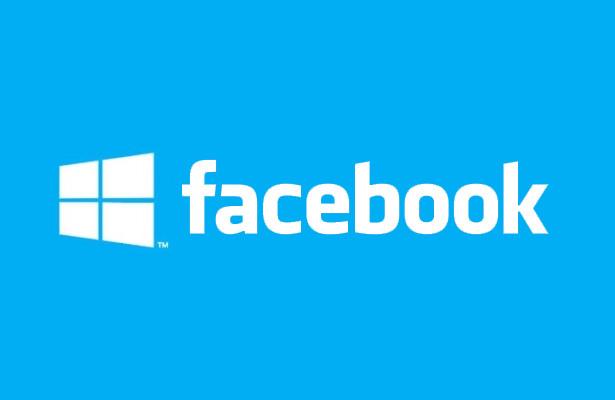windows 8 facebook