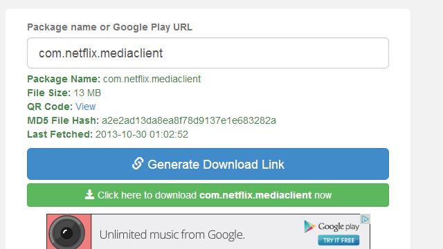 APK Downloader merr skedarët APK drejtpërdrejt nga Google Play