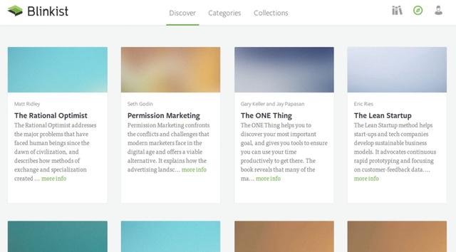 Aplikacioni Blinkist përmbledh pjesët e rëndësishme të librave për mësim të shpejt