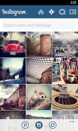 Më në fund lançohet Instagram për Windows Phone