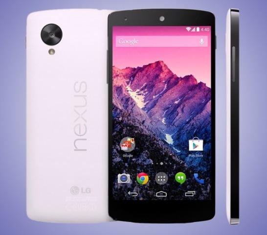 Google prezanton smartfonin Nexus 5 dhe sistemin operativ Android Kit Kat