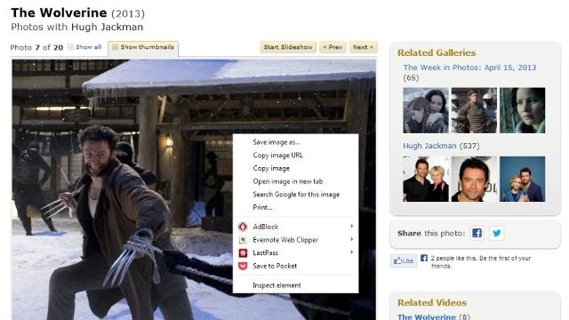Allow Right-Click mundëson rikthimin e menuve të zakonshme në faqet që e bllokojnë atë