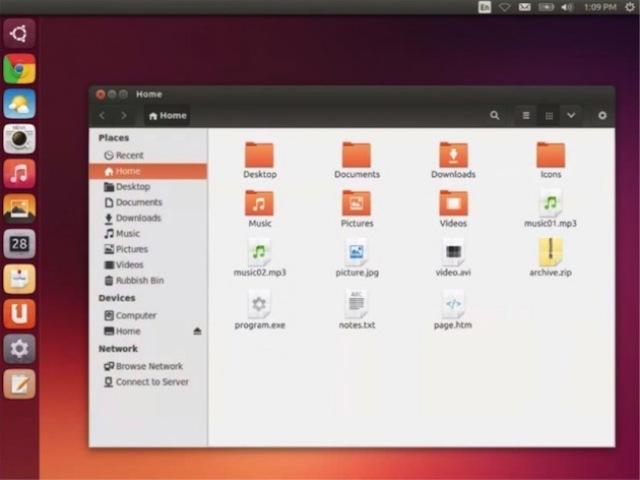 Unifikohen ikonat e sistemit Ubuntu për desktop dhe pajisje mobile