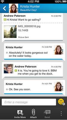 Përditësimi i BlackBerry Messenger ofron suport për iPod Touch dhe iPad-ët (Wi-Fi only)