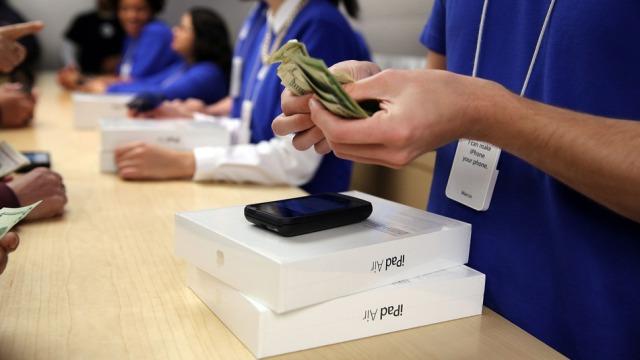 iPad Air, 5 herë më popullor se iPad 4