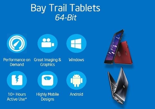 Intel në përgatitje të procesorit prej 64 bit për Android