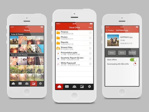 Shërbimi Mega tani me aplikacion për iPhone