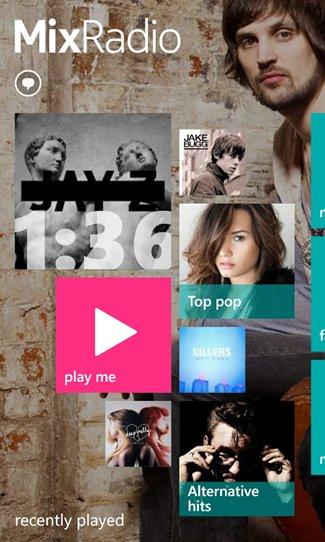 Nokia përditëson aplikacionin muzikor për Windows Phone, riemërtohet Nokia MixRadio