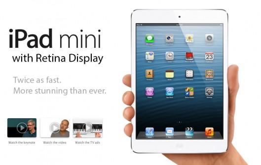 Apple fillon të dërgojë për shitje iPad Mini me Retina