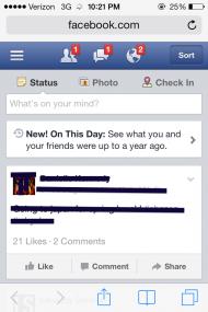 Facebook teston opsionin që mundëson shfaqjen e postimeve të publikuara para 1 viti