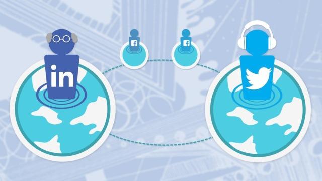 Twitter është për të rinjtë, Facebook për të gjitha moshat (Grafik)