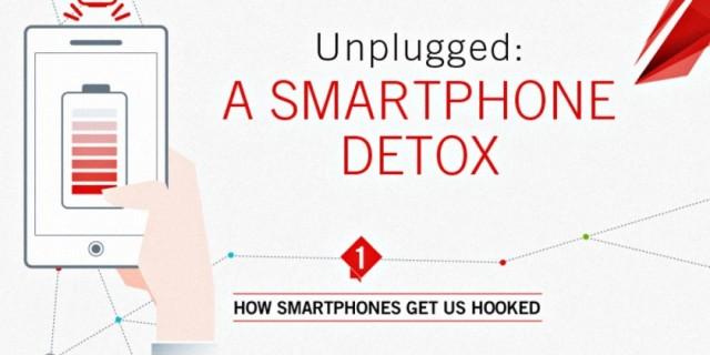 """Ja se si ta """"shëroni"""" varësinë nga smartfonët (Infografik)"""