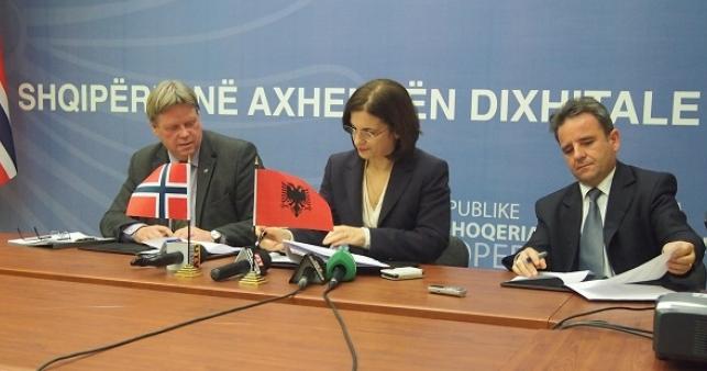 Norvegjia i jep 1.2 milionë € ndihmë Shqipërisë për projektin e të dhënave gjeohapësinore