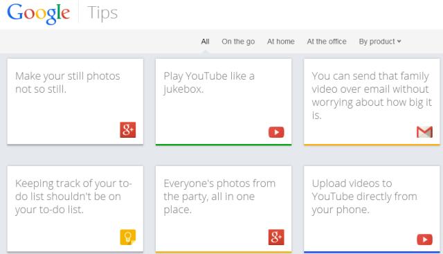 Lançohet Google Tips, guidë për përdorimin e 13 produkteve të Google