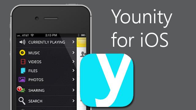 Younity ju ofron qasje në PC ose Mac nga pajisja juaj iPhone