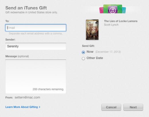 Për festat e fundvitit, në iBookstore mund t'u dhuroni miqve libra elektronike