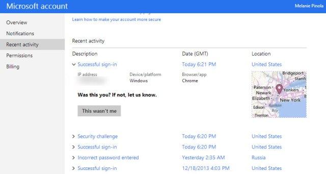 Ja si të kontrolloni nëse llogaria juaj është aksesuar nga hakerat ose jo