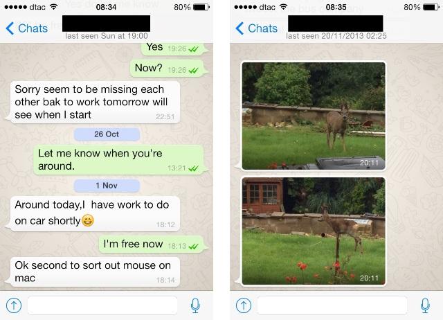 Më në fund përditësohet aplikacioni WhatsApp për iOS 7
