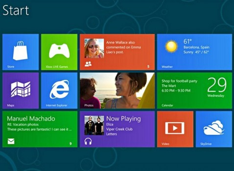 A do të ndihmohet Windows 8 nga Android