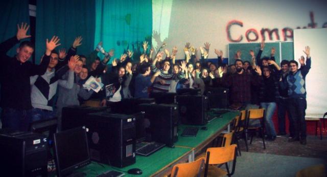 WikiAkademia_Shqiptare_Tetove_dec_2013_gjimnazi_Kiril_Pejçinoviq