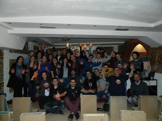 Group photo | Mozilla Weekend 2014 in Tirana