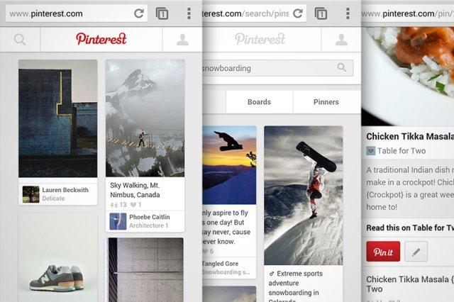 Pinterest ridizajnon uebfaqen mobile si rezultat i rritjes së numrit të përdoruesve