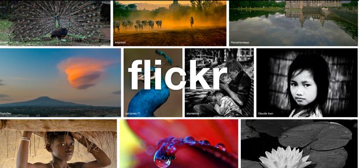 Flickr feston 10 vjetorin e themelimit