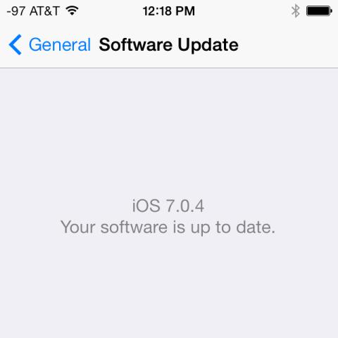Apple lançon versionin e përditësuar iOS 7.0.5 për disa modele iPhone 5S dhe 5C në Kinë