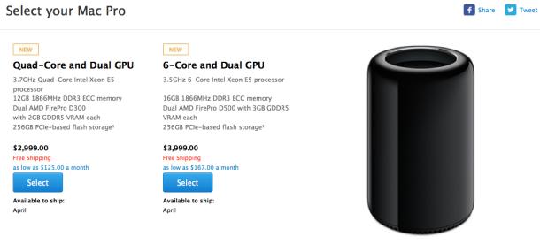 Shitja e Mac Pro shtyhet për në prill