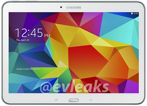 Publikohen imazhe të reja të tabletit Samsung Galaxy Tab 4 10.1