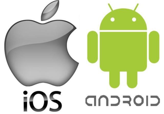 Android 4.x është më i qëndrueshëm sesa iOS 7.1