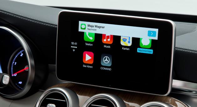 Mercedes ka në plan ofrimin e ndërfaqes CarPlay tek makinat e vjetra