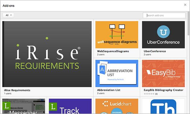 Tashmë mund të instaloni shtojca (add-on) edhe në Google Docs