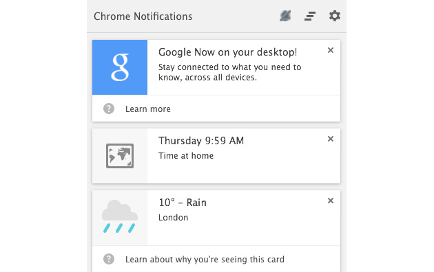 Google Now lançohet zyrtarisht për shfletuesin Chrome