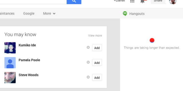Disa shërbime të Google shfaqën probleme gjatë të hënës