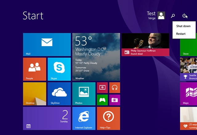 Përfundon përditësimi i Windows 8.1