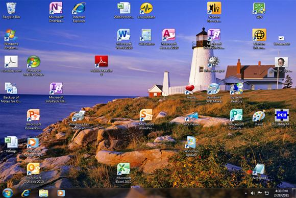 Pse nuk duhet t'i ruani skedarët në desktop