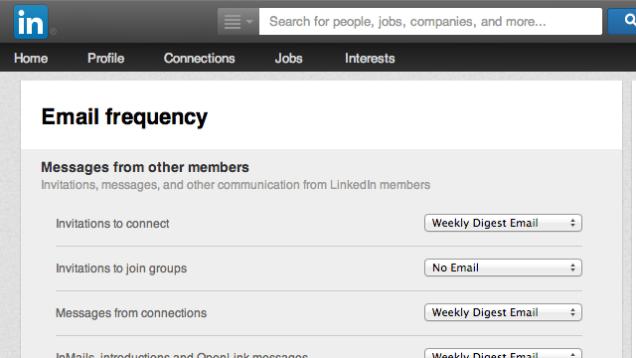 Si të çregjistroheni nga gjithë email-et e LinkedIn me një klikim të vetëm